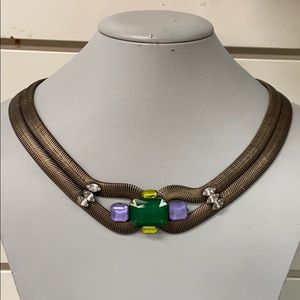 Green Double Stand Loren Hope Necklace